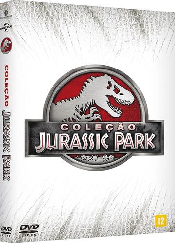 Dvd Box - Coleção Jurassic Park