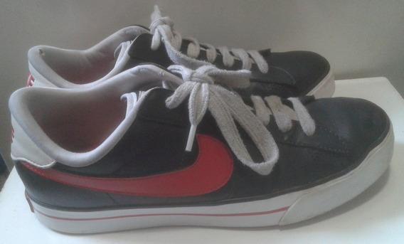 Zapatillas Nike Originales Desinfectadas Hombre Cuero 8.5 Us