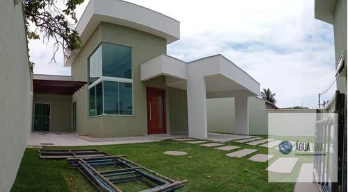 Rgi - Residência De Alto Padrão Com Piscina, Por  R$ 900 Mil - Ca0092