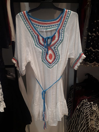 d9638143e Vestidos Boho Chic Playeros - Ropa y Accesorios de Mujer en Mercado ...