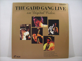 Ld - Laserdisc The Gadd Gang Live - On Digital Video - Japan
