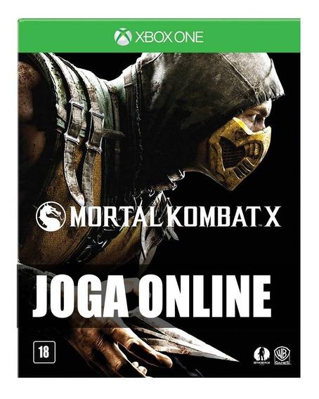 Mortal Kombat X Online Xbox One + Dlc Goro - Original