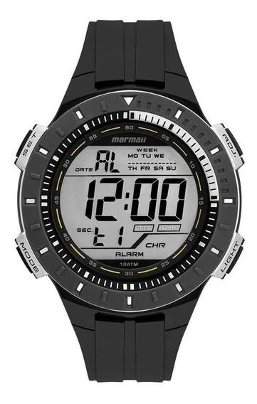 Relógio Mormaii Masculino Ref: Mo3620ab/8c Digital Preto