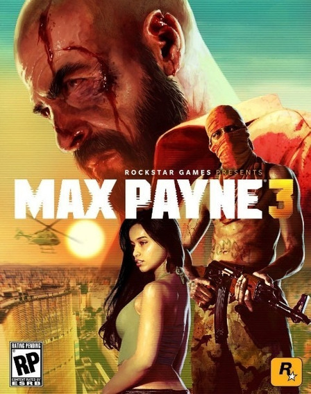 Max Payne - Xbox 360 Mídia Digital
