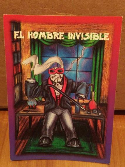 Tarjeta H. Inv. Monstruos De Bolsillo Sonrics Vintage 1994