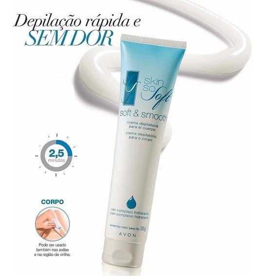 Depilatorio Em Creme Para O Corpo Avon 125g Skin So S