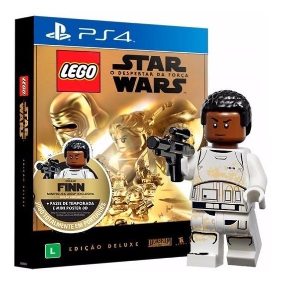 Lego Star Wars O Despertar Edição Deluxe Ps4 Novo Lacrado