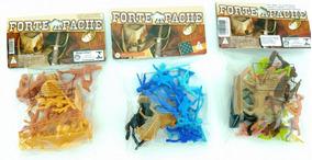 Forte Apache 3 Conjuntos De Soldados Conf. E Índios Gulliver