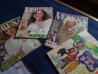 Lote De Revistas Importadas De Trico - Alemanha E Japão
