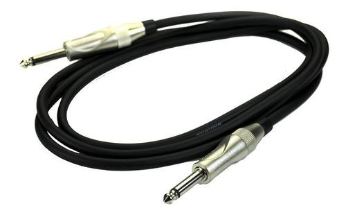 Imagen 1 de 1 de Whirlwind Connect Zc10 Cable Plug De 3 Metros De Instrumento