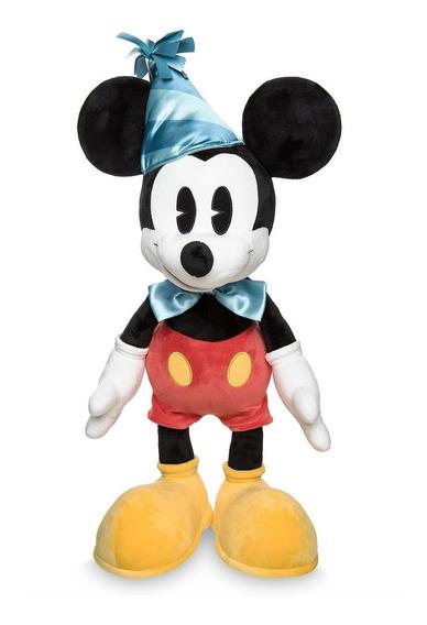 Pelucia Mickey(ediç. Especial De Aniversário) Lets Celebrate