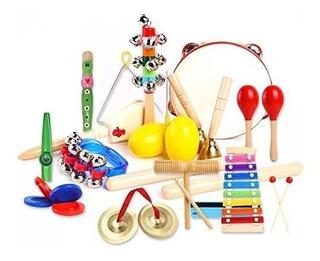 23pcs Instrumentos Musicales Para Niños Con Xilófono, Ins
