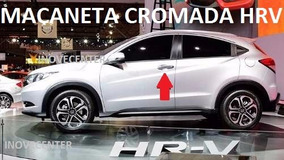 Honda Hrv Capa Maçaneta Cromada Portas Dianteiras 16 17 2018