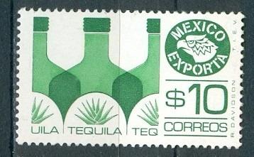 Sc 1174 Año 1979 Exporta 2 Serie 10p Tequila