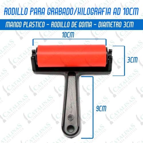 Rodillo Para Grabado Xilografía 10cm Ad Microcentro