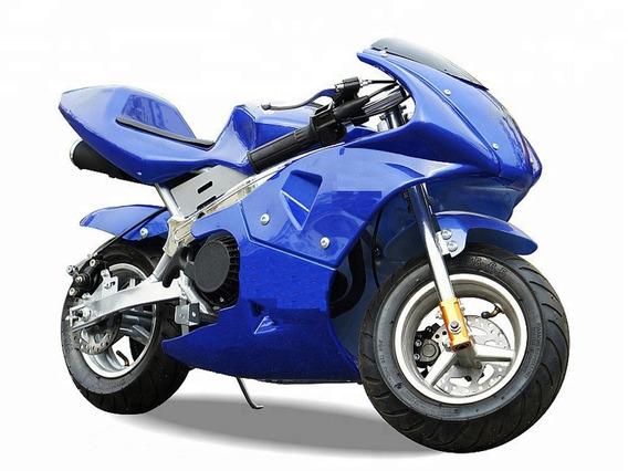 Super Mini Moto Gp Ninja 49cc Com Nota Fiscal + Dsr