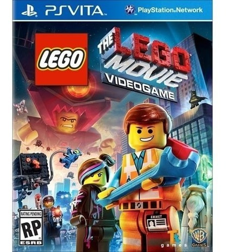 Lego The Movie Videogame - Ps Vita - Lacrado