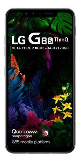 Celular LG G8s Thinq Branco Tela 6.2 Oled 128gb 6gb De Ram C