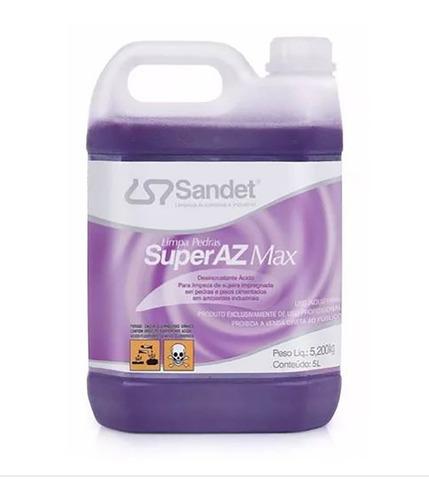 Sandet 5 Litros - Limpa Pedras Super Az Max - 2un