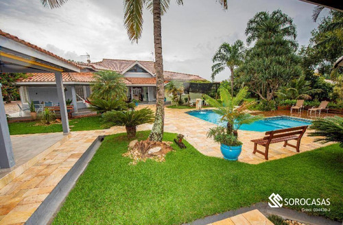 Imagem 1 de 1 de Chácara Com 3 Dormitórios À Venda, 3738 M² Por R$ 3.200.000,00 - Condomínio Aldeia Da Serrinha - Sorocaba/sp - Ch0036