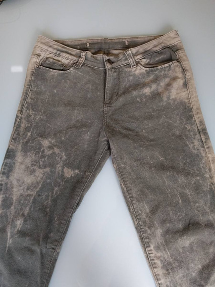 Pantalon Corderoy Elastiza Mujer Marca Materia Outlet Nuevo