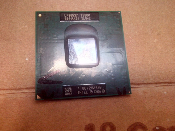 Processador Intel Core 2 Duo T5800-2m/800/2.0ghz - Original