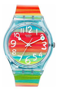 Reloj Swatch Color The Sky Gs124 | Original Envío Gratis