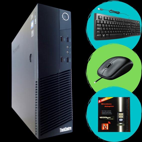 Computador Intel I5 4º Geração 8gb Ssd 240 + Wi-fi + Windows