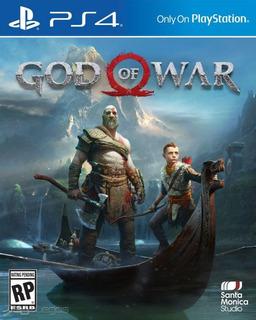 God Of War Ps4 Disco, Nuevo Y Sellado