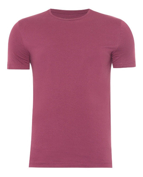 Calvin Klein Jeans Camiseta Masculina Swim - Bordo