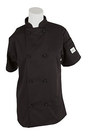 Mercer Culinary M60024bkxs Millennia Chaqueta De Cocinero De