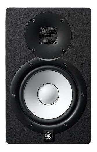 Monitor De Estúdio Yamaha Hs7 Hs 7 Preto Bi-amplificado