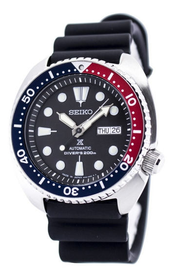 Made In Japan Seiko Prospex Turtle Automatic 200m Srp779j1-12x