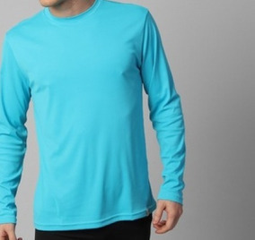 Kit 5 Camiseta Masculina Dry Fit Com Proteção Uv 50+