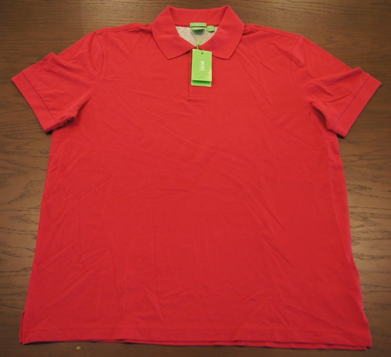 Hugo Boss Playera Polo Talla Xxl Color Rosa Chicle Original