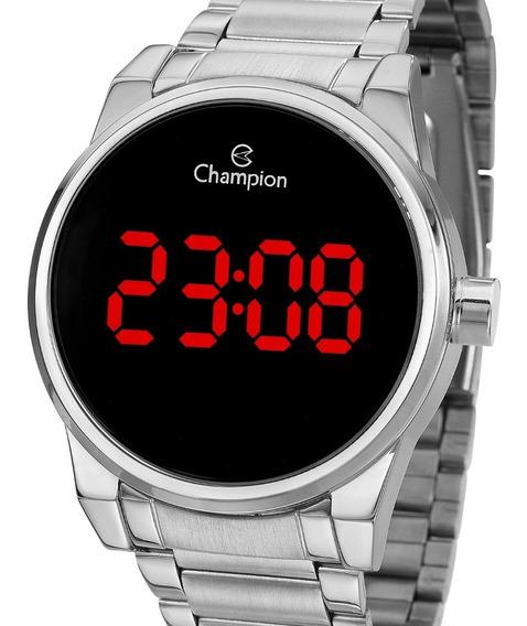 Relógio Champion Feminino Digital Prata Ch40124t