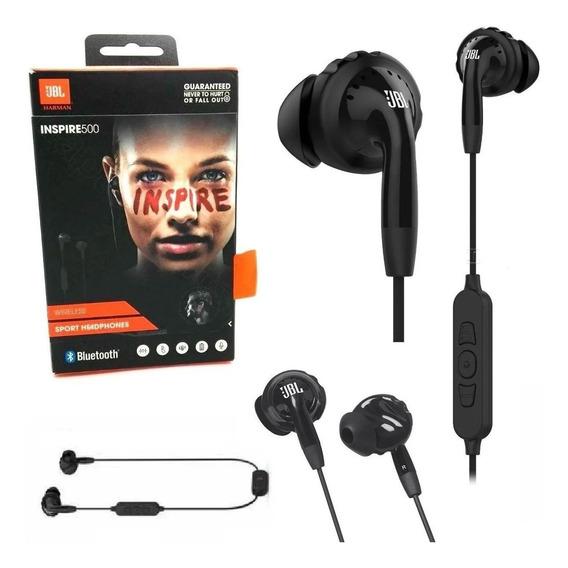 Fone De Ouvido Jbl Inspire 500 - Bluetooth E Prova De Suor