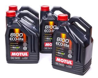 Envío Aceite Motul 8100 Eco Lite 5w30 X4l (100% Sintético) Gm Dexos 1