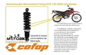 Amortecedor Moto Xtz 125 Original Cofap Msc42001 C/regulagem