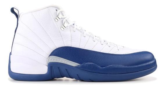 Tenis Nike Air Jordan 12 Retro Azul Francés 130690 113 Originales Talla 26mx 8us
