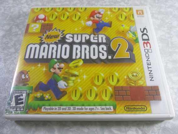 Nintendo 3ds - New Super Mario Bros 2 - Original Americano