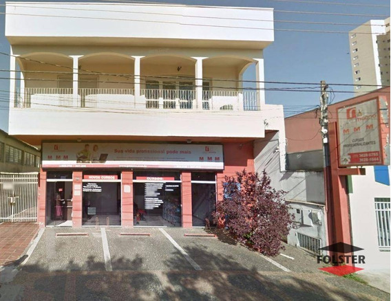 Prédio À Venda, 693 M² Por R$ 1.500.000,00 - Centro - Santa Bárbara D