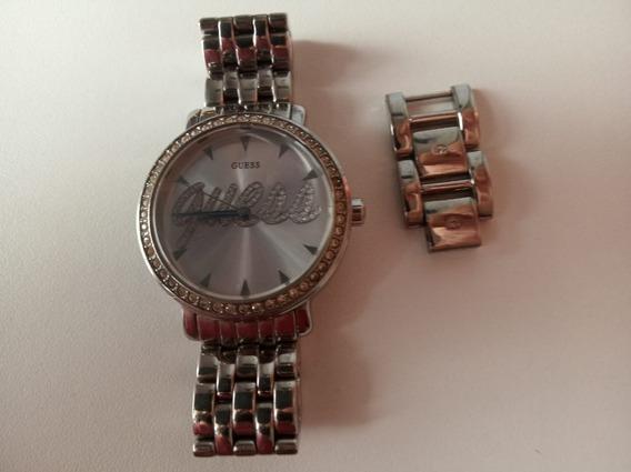 Relógio Guess Prateado G86157l Feminino