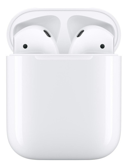 Audífonos inalámbricos Apple Airpods with Charging Case (2nd Generation) blanco