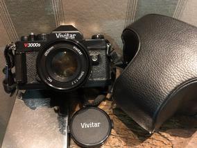 Câmera 35mm Analógica Vivitar Com Lente Toda Revisada Estojo