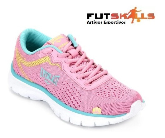Tênis Feminino Everlast Flashlight - Rosa