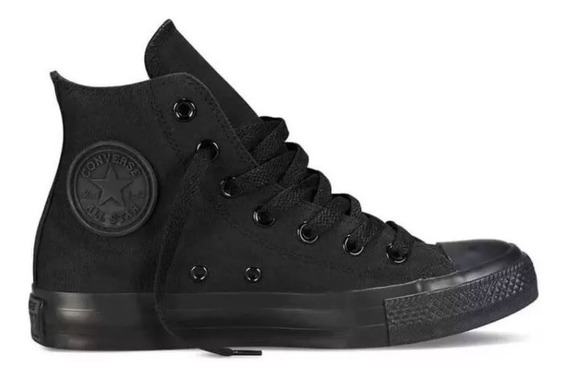 Tênis Converse All Star Monochrome Cano Medio Rock Original