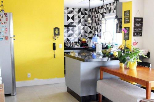 Imagem 1 de 30 de Apartamento À Venda, 86 M² Por R$ 670.000,00 - Vila Homero Thon - Santo André/sp - Ap3331