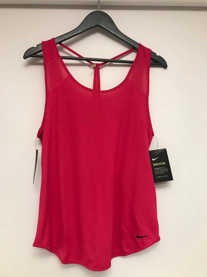 Musculosa Deportiva Nike Talle M Rosa