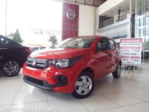 Fiat Mobi Like 1.0 8v 0km 2019 Vermelho